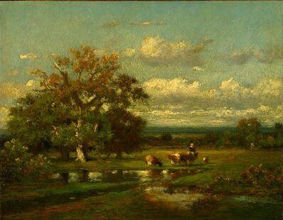 Jules Dupré, 'Landscape with Cattle', ca. 1865
