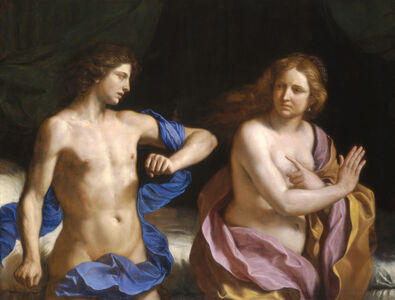 Guercino, 'Amnon and Tamar', 1649-1650