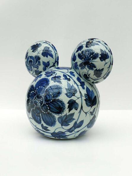 Li Lihong, 'Mickey - CHINA (blue and white)', 2009