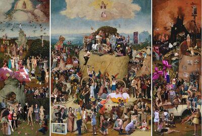 Lluis Barba, 'The Haywain, Triptych, Hieronymus Bosch ', 2009