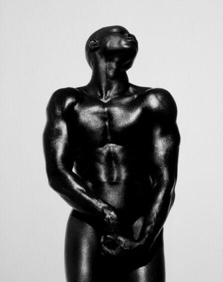 Herb Ritts, 'Djimon Three Quarter Nude, Hollywood', 1989