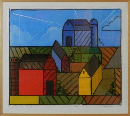 Richard Thompson, 'Painter's Farm - Blue Barn', 2014