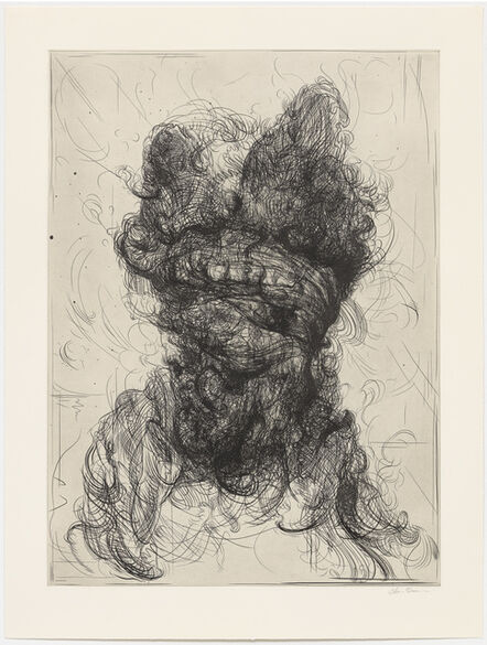 Glenn Brown, 'Half-Life (after Rembrandt)', 2017