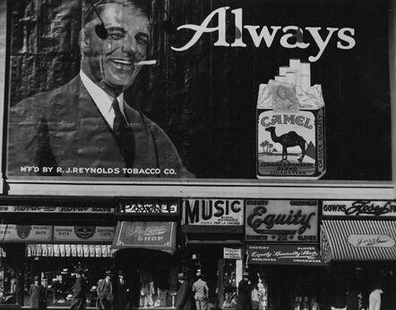 Ralph Steiner, 'Always Camels', 1922-printed 1981