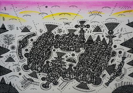 Shu-Kai Lin, 'Balcony City Civilization Quote Serie IV', 2018