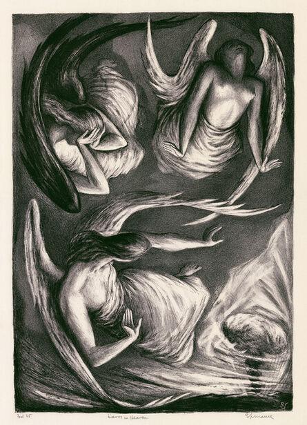 Benton Spruance, 'Havoc in Heaven', 1948