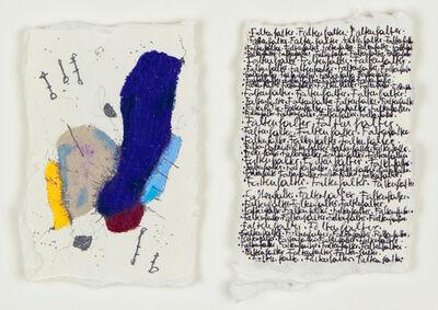 Denise Schellmann, 'Diptychon Faltenfalter', 2020