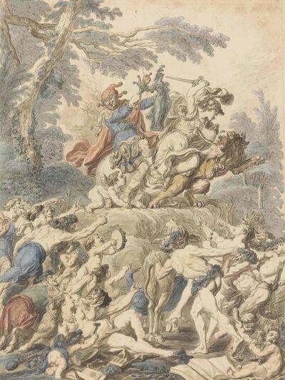 Charles-Dominique-Joseph Eisen, 'An allegory with bacchanalian revelers'