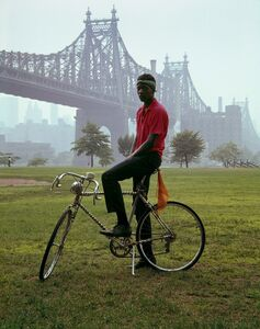 Evelyn Hofer, 'Queensboro Bridge, New York', 1964