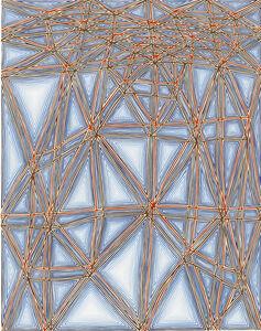 James Siena, 'Shifted Lattice, second version', 2006-2007