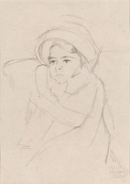 Mary Cassatt, 'Margot Wearing a Bonnet', ca. 1902