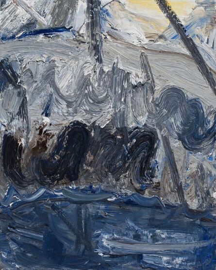 John Santoro, 'Hong Kong Thunderstorms: Black Rain', 2014