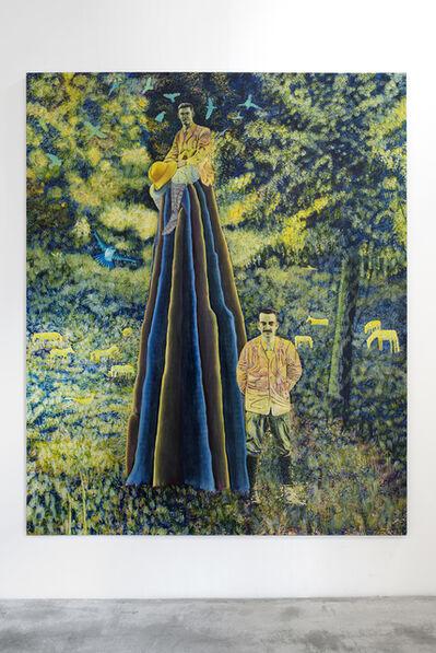 David Brian Smith, 'Ant Hill - Blue Bird', 2016
