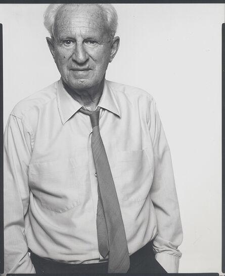 Richard Avedon, 'Herbert Marcuse', New York 1970