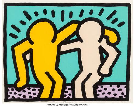 Keith Haring, 'Best Buddie', 1990