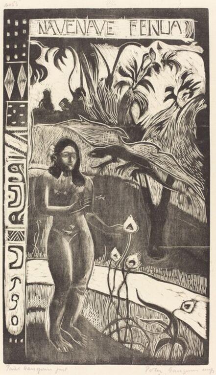 Paul Gauguin, 'Nave Nave Fenua (Delightful Land)', 1894/1895