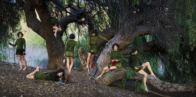 Lisa Anne Auerbach, 'Take this Knitting Machine and Shove It', 2009