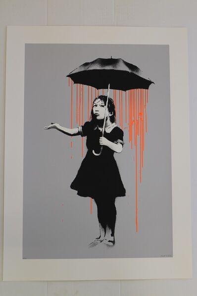 Banksy, 'Nola (Orange Rain)', 2008