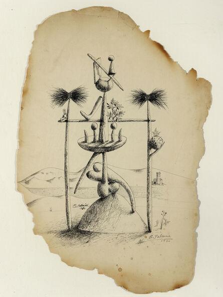 Benjamín Palencia, 'Composición surrealista', 1930