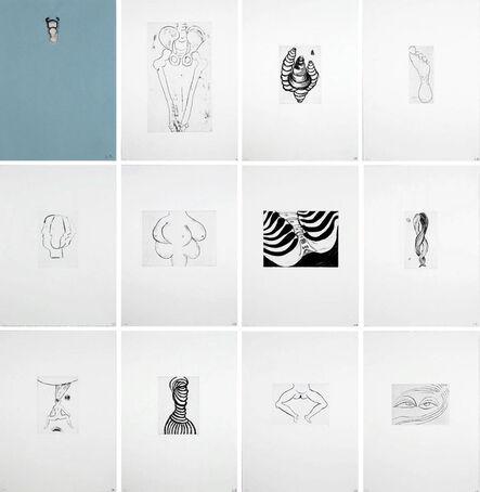 Louise Bourgeois, 'Anatomy Portfolio', 1989