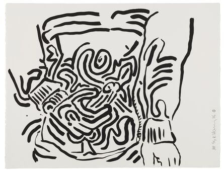 Keith Haring, 'Untitled, from Bad Boys (Littmann p.58)', 1986