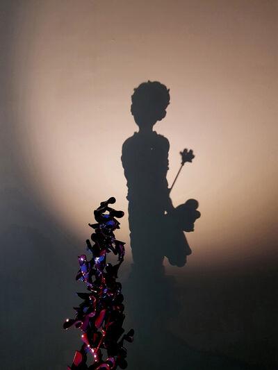Ikk Hoon Eom, 'A child with a teddy bear', 2018