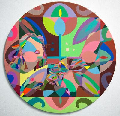 C. Finley, 'Tondo Folk Girls', 2011