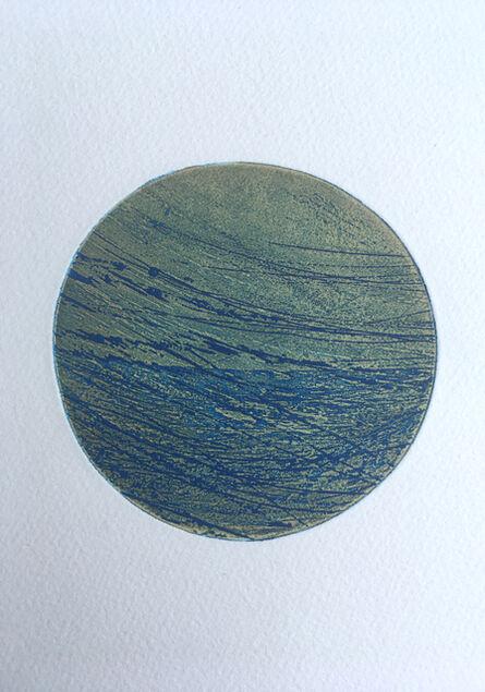 Terry Haass, 'Lune (bleue)', 1970