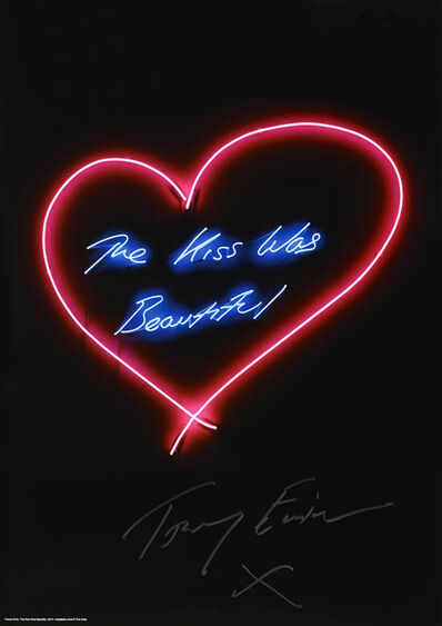 Tracey Emin, 'The Kiss Was Beautiful', 2014
