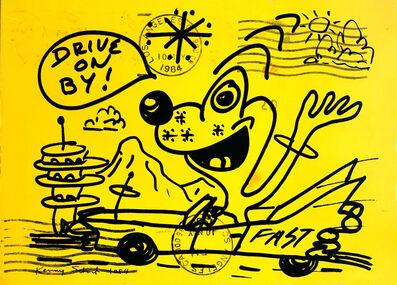 Kenny Scharf, 'Kenny Scharf at Gagosian Gallery 1984 announcement ', 1984