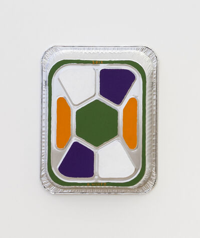 B. Wurtz, 'Untitled (Pan Painting)', 2016