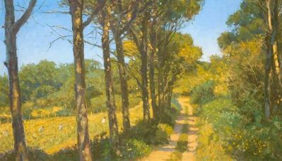 Nicholas Verrall, 'Path by the Vineyard, Provence', 2020