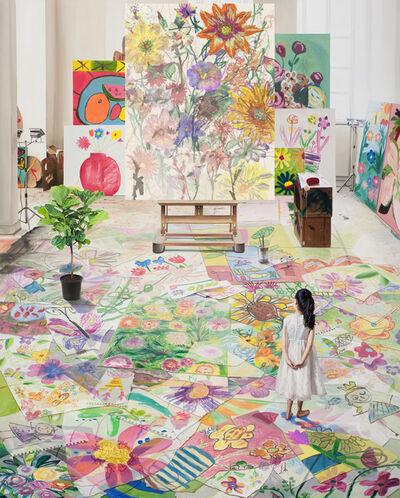 Bae Joon Sung, 'The Costume of Painter - at the studio-f garden 1', 2020