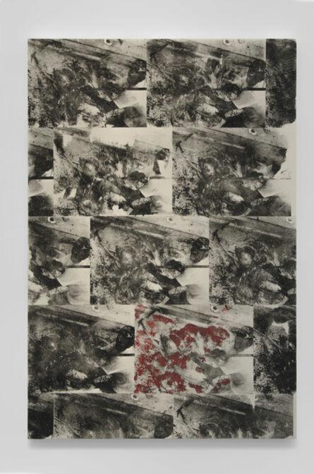 Abdul Mazid, 'Untitled (active predation payoff matrix)', 2015