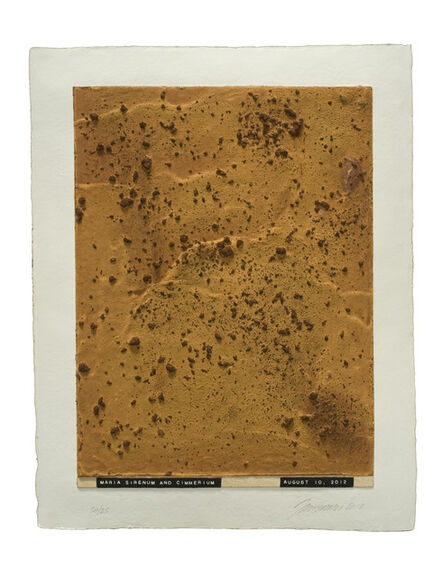 Julião Sarmento, 'Curiosity's Eye (maria sirenum and cimmerium)', 2013