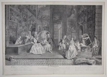 Jean-Antoine Watteau, 'L'Enseigne de Gersaint (The Shop Sign of Gersaint)', ca. 1732