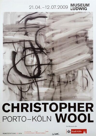 Christopher Wool, 'Christopher Wool: Porto - Köln (Signed)', 2009