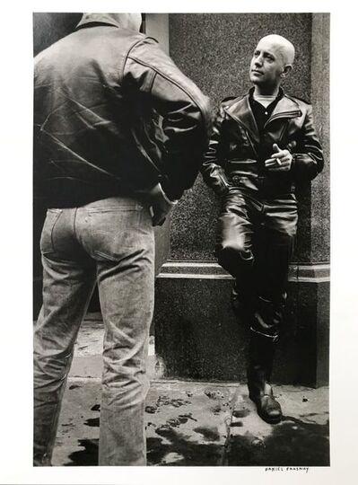 Daniel Frasnay, 'Les copains - copines de Londres beaux-mecs de cuir vêtus', 1963