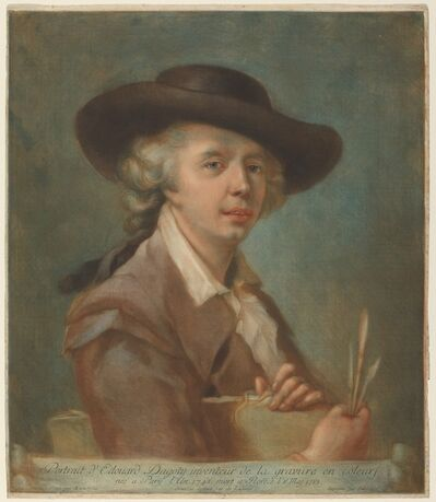 Carlo Lasinio after Johann Ernst Heinsius, 'Edouard Gautier d'Agoty'