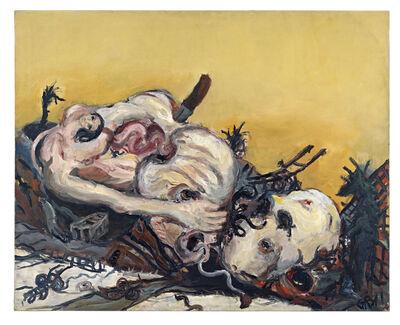 Georg Baselitz, 'Bild für die Väter', 1965