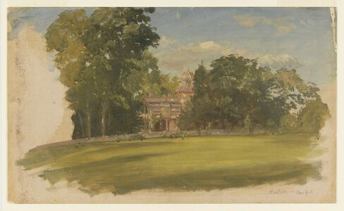 Frederic Edwin Church, 'House in Hudson, New York', ca. 1885