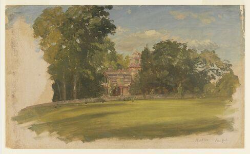Frederic Edwin Church, 'House in Hudson, New York', ca. 1885