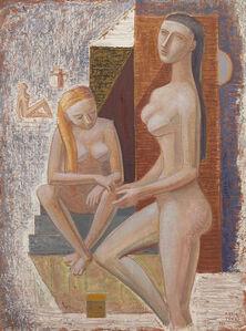 Mario Tozzi, 'Capanno al mare', 1966