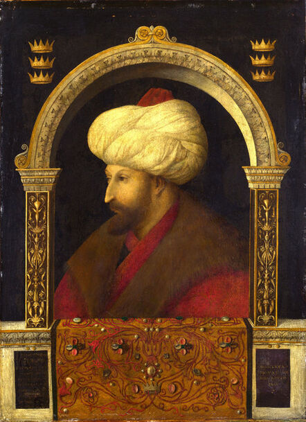 Gentile Bellini, 'Portrait of Sultan Mehmet II', 1480