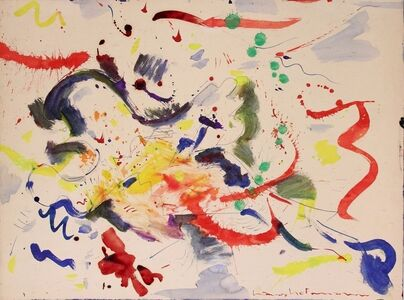 Hans Hofmann, 'Untitled (Red, yellow, green, blue)', 1946