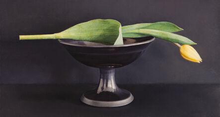 Lucy Mackenzie, 'Yellow Tulip, Black Bowl', 2010