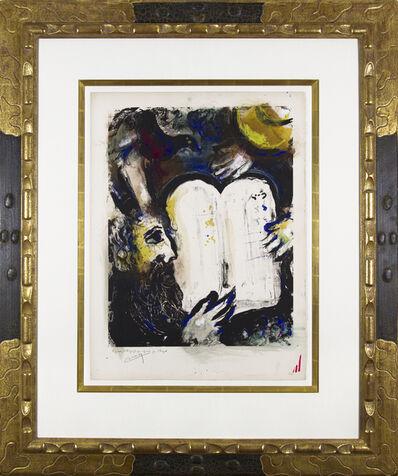 Marc Chagall, 'Moïse et les tables de la loi', 1962