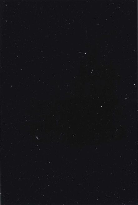 Thomas Ruff, 'Sterne 03h 44m/-45°', 1990