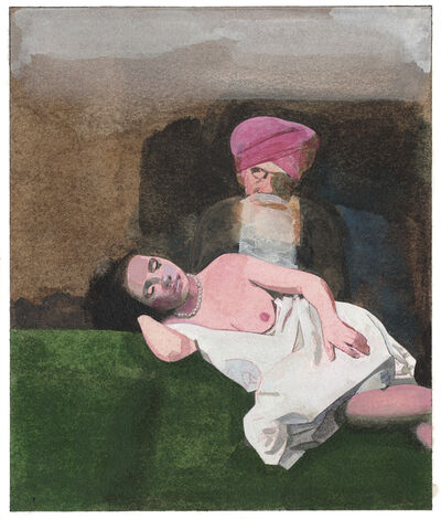 Peter Blake, 'Lily Smalls in the Wash-House', 2013