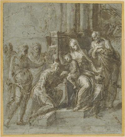 Biagio Pupini, 'The Adoration of the Magi', 1551
